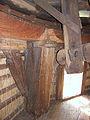 Molen Laurentia houten achtkant constructie boventafelement.jpg