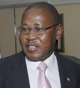 Vice-President of Botswana - Image: Mompati Merafhe 071203 F 9074R 083 0YE9L
