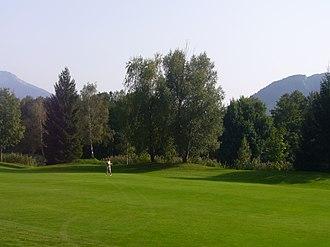 Mondsee (town) - Image: Mondsee Golf Club