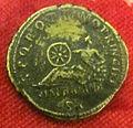 Monetiere di fi, moneta romana imperiale di traiano per costruz. della via traiana.JPG