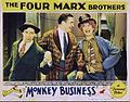 Monkey Business lobby card 1931.JPG