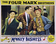 Monkey Business lobby card 1931.JPG