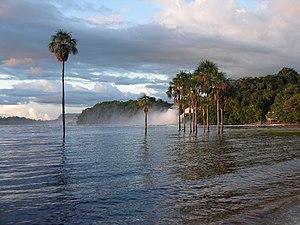 Bolívar (state) - Canaima, located in southeastern Bolívar State.