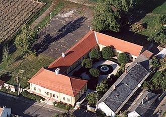 Lajos Kossuth - The house in Monok where Kossuth was born.