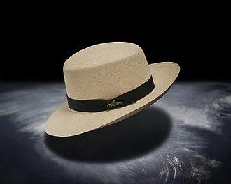 Panama hat - Montecristi Panama hat