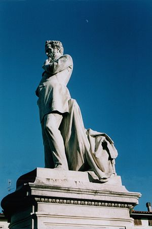 Giuseppe Giusti - Monument to Giuseppe Giusti in Monsummano Terme, Italy