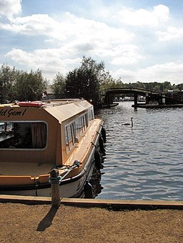 Moorings on the River Bure - geograph.org.uk - 939854