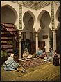 Moorish women making Arab carpets, Algiers, Algeria-LCCN2001697844.jpg