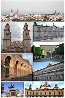 City in Michoacán, Mexico