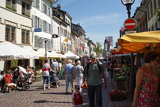 Morges - Market in Morges