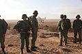 Moroccan soldiers participate in a dry-fire rehearsal with U.S. Marines assigned to Bravo Company, Battalion Landing Team, 1st Battalion, 2nd Marine Regiment, 24th Marine Expeditionary Unit in preparation for 120414-M-TK324-047.jpg