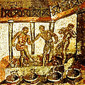 Mosaïque de Saint-Romain-en-Gal foulage de la vendange.jpg