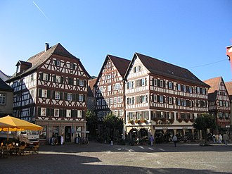 Mosbach - Image: Mosbach marktplatz gegenseite