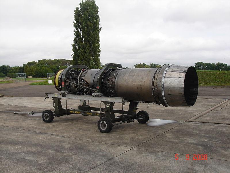 المقاتله الفرنسيه Dassault Mirage 2000  800px-Moteur_M53-P2