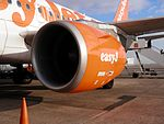 Motor CFM56-5B d'un easyJet Airbus A319 2.jpg