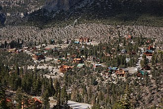 Mount Charleston, Nevada - Image: Mount Charleston N Vhomes