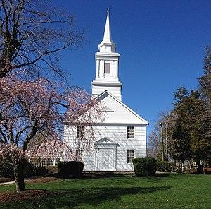 Mount Sinai, New York - The c.1807 Mount Sinai Congregational Church