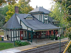 Chestnut Hill East Line - Mount Airy, like Gravers, was designed by Frank Furness