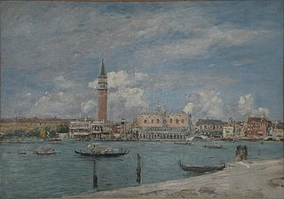 Venice, the Piazzetta Seen from the Canal Grande