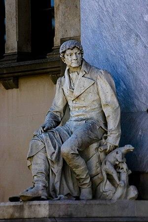 Félix de Azara - Felix de Azara, sculpture by Eduard Alentorn in Museo Martorell, Barcelona