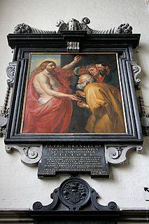 Mayken Coecke daughter of painters Mayken Verhust and Pieter Coecke van Aelst; wife of Pieter Breughel I; mother of painters Pieter II and Jan II