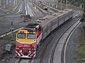 N474 on a service from Albury passes West Footscray. 9-4-21..jpg
