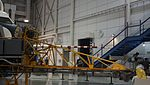 NAL VTOL Flying Test Bed nose flame & pitot tube at Kakamigahara Aerospace Science Museum November 2, 2014.jpg