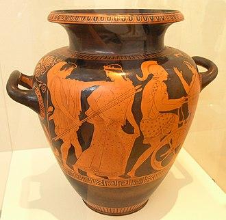 Polygnotos (vase painter) - Image: NAMA 18063 Helene Phœbe