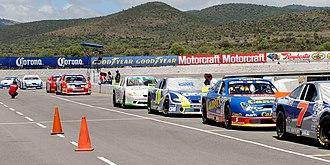 NASCAR PEAK Mexico Series - Corona Series cars