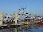 NATO ships at Liverpool Cruise Terminal - 2013-04-06 (7).JPG