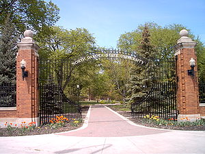 North Dakota State University - Gates to North Dakota State University