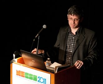 Carl Zimmer - Zimmer speaking at NECSS conference 2011