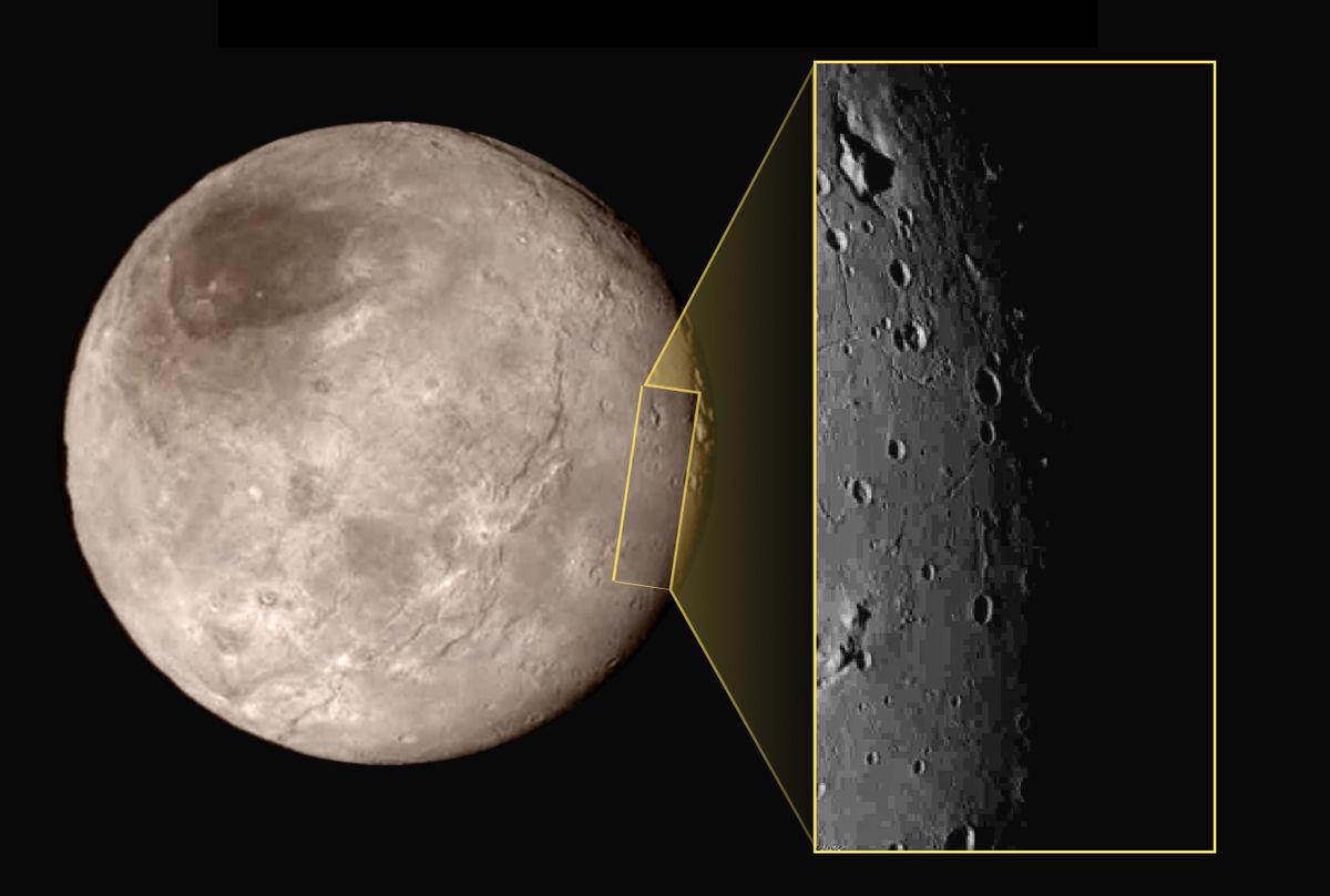 Kerberos Moon Of Plluto: Geology Of Charon