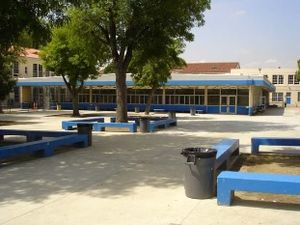 North Hollywood High School - The student quad.