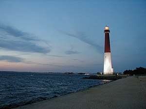 Ocean County, New Jersey - Image: NJ LBI Lighthouse 04