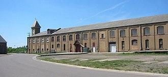 Motive power depot - Northern Pacific Railroad Shops