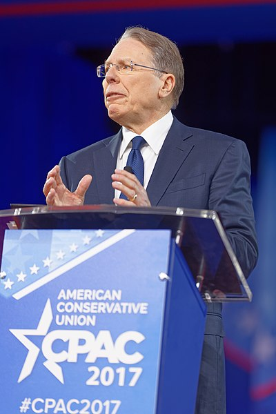 File:NRA Wayne LaPierre at CPAC 2017 on February 24th 2017 by Michael Vadon 10.jpg