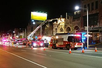 Fire and Rescue NSW - Fire and Rescue NSW in action. Paddington/Sydney, July 2012
