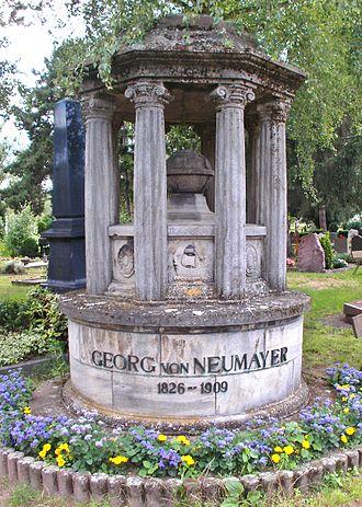 Georg von Neumayer - Neumayer's grave, Neustadt an der Weinstraße