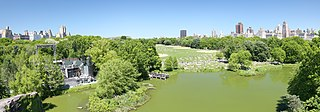 Great Lawn and Turtle Pond Geographical features in New York Citys Central Park