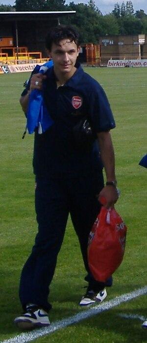 Nacer Barazite - Barazite with Arsenal in 2007