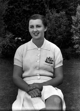 Nancye Wynne Bolton - Image: Nancye Wynne Bolton 1938