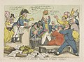 Napoleon verkoopt gestolen goed, 1813 Mock auction or Boney selling stolen goods (titel op object), RP-P-OB-87.127 (cropped).jpg