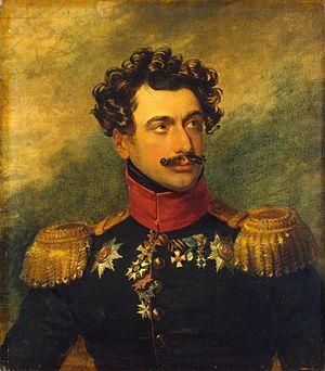 Lev Naryshkin - Portrait of Lev Alexandrovich Naryshkin, by George Dawe (Hermitage Museum)