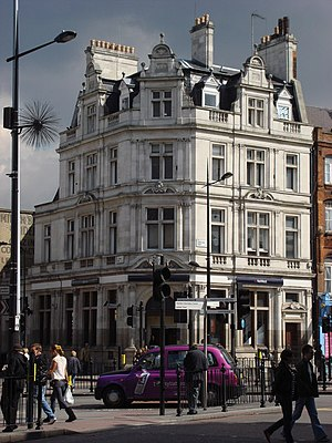 NatWest - The NatWest branch at Camden Town, London, NW1.