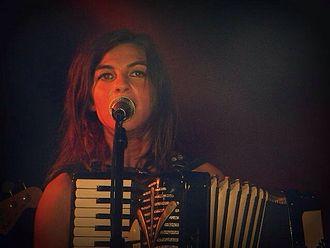 Natalia Tena - Tena performing in 2013