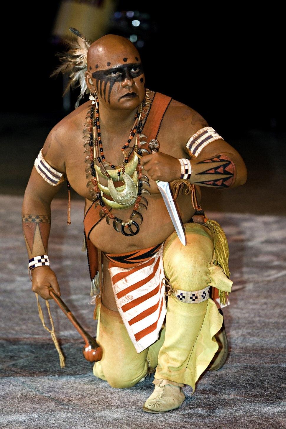 National Powwow dancer 2007