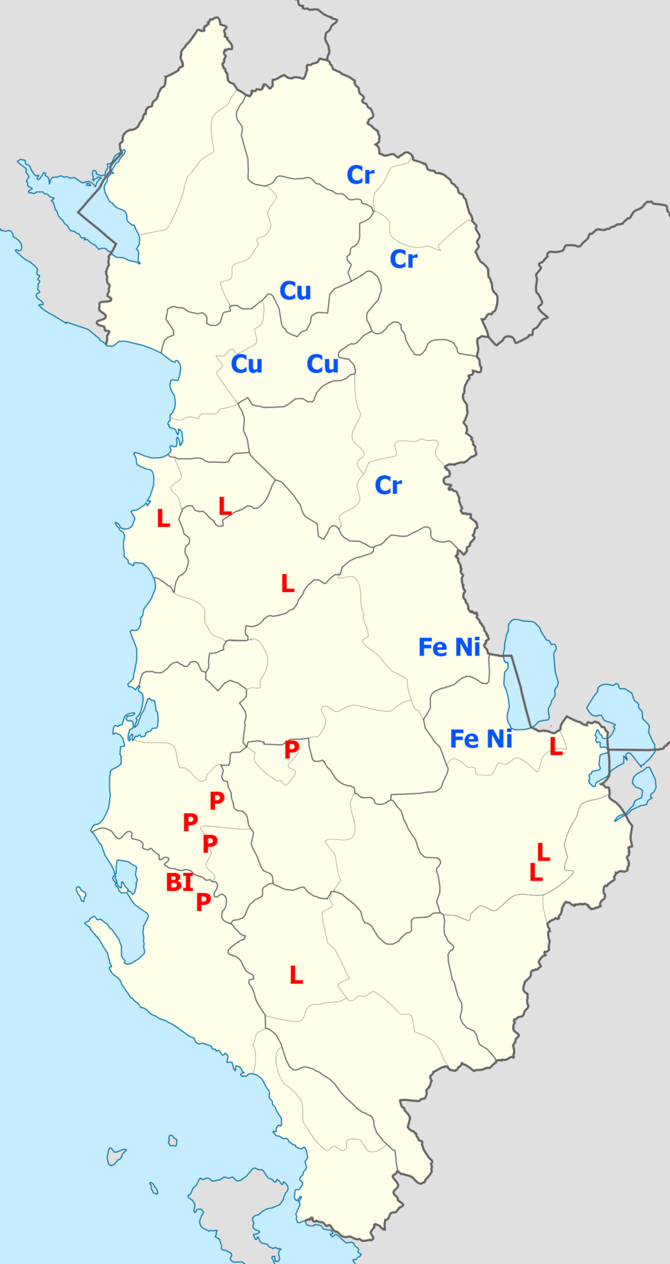 Natural resources of Albania