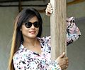 Neetu Chandra poses post the National Award win for Mithila Makhaan (cropped).jpg