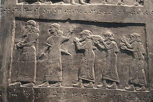 Neo-Assyrian Black Limestone Obelisk of Shalmaneser III, Nimrud, 825 BC - 36533957605